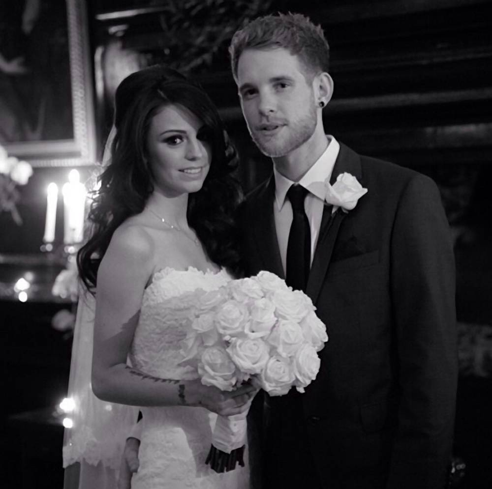 Cheryl Cole puts the past behind her as she congratulates Cher Lloyd on secret wedding to Craig Monk