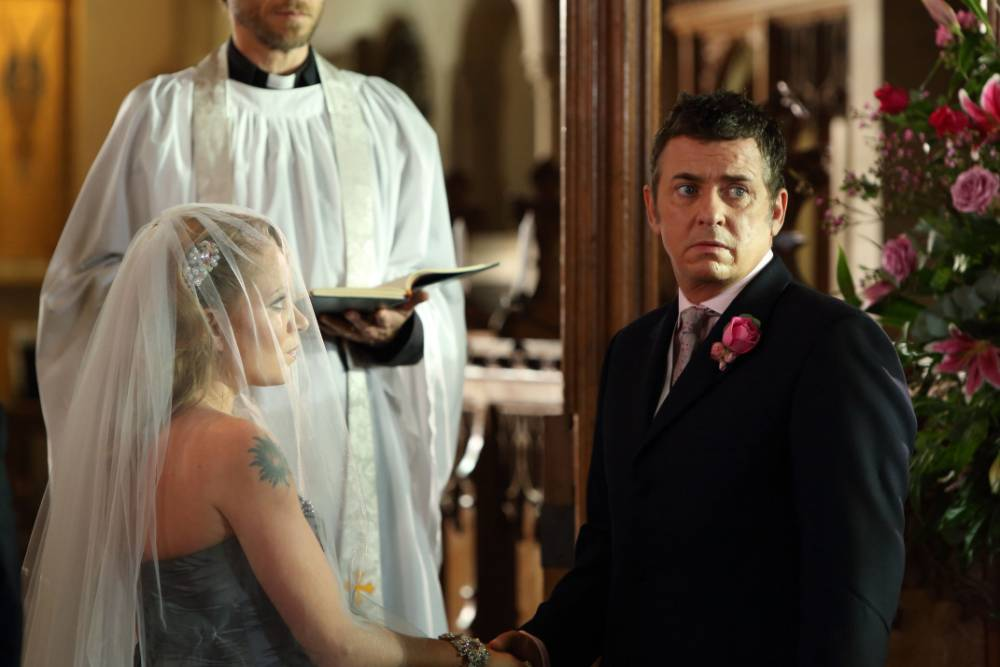 Will Roxy and Alfie tie the knot? (Picture: BBC)