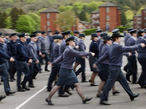 Female RAF recruits awarded £100,000 each for injuries sustained marching in step with male colleagues