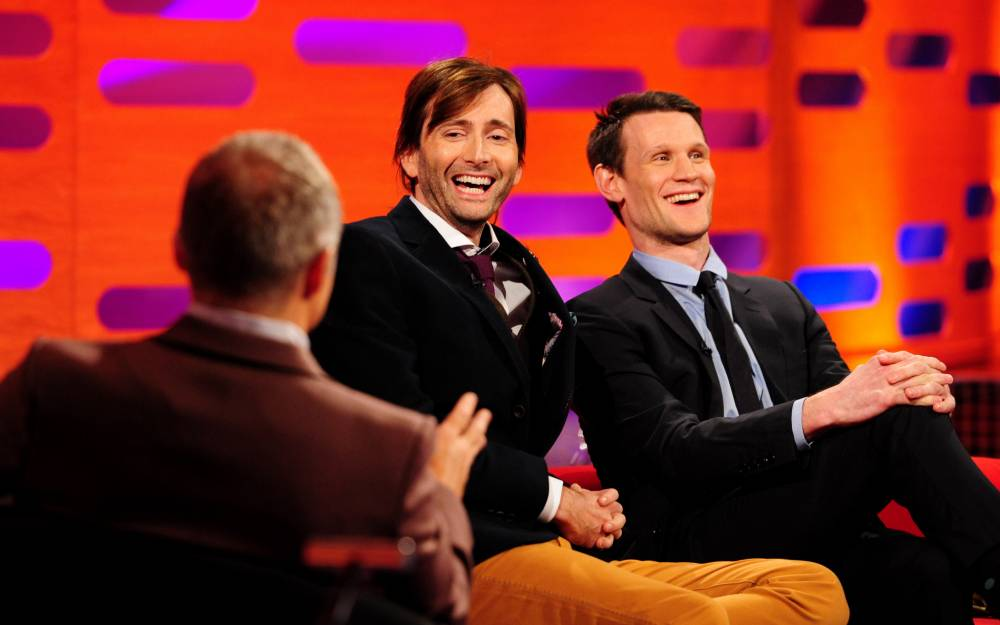 David Tennant and Matt Smith on Graham Norton