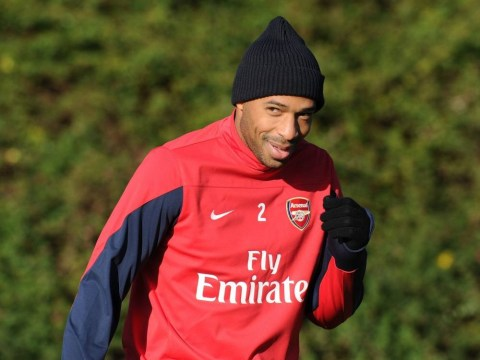 Thierry Henry training with Arsenal: His Gunners career in pictures