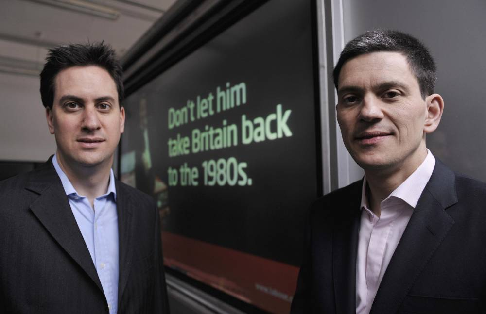 Ed Miliband: Relationship with brother David still not fully recovered