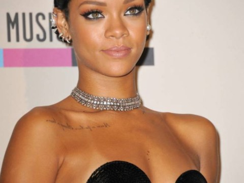 Guess who Rihanna hitched a ride home with after her night out?