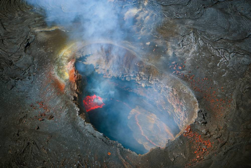 Travel to Hawaii for some two-wheel volcanic action