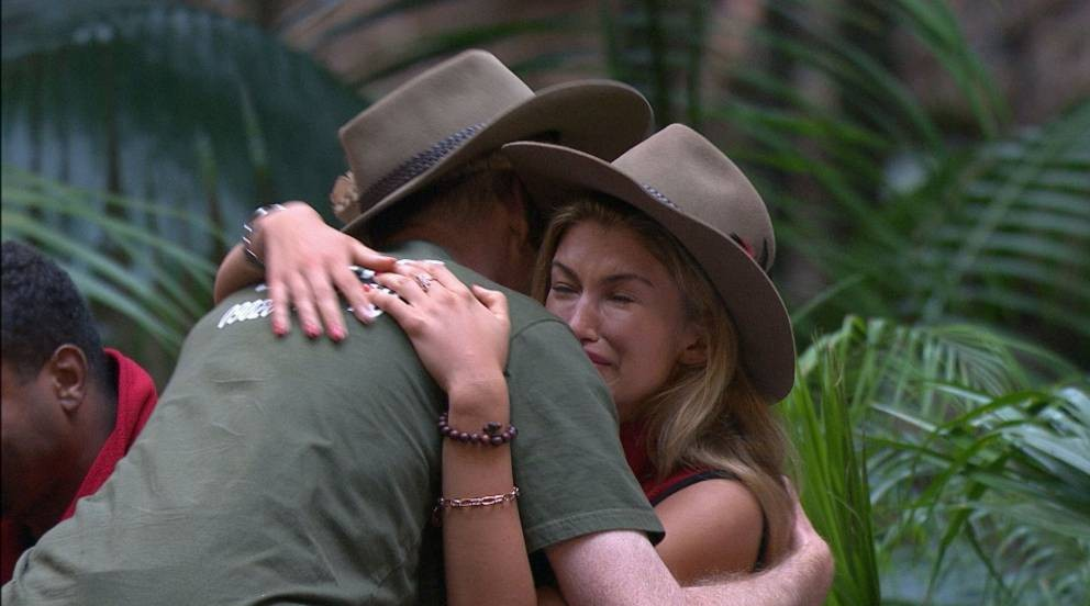 Amy Willerton gets teary - I'm A Celebrity