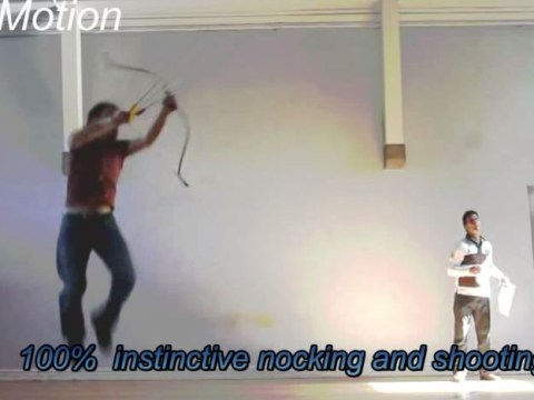 Watch out Legolas! Amazing archer Lars Andersen gives Lord Of The Rings elf a run for his money