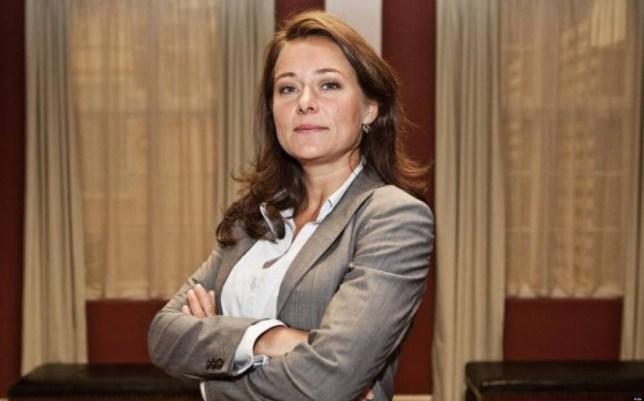 Sidse Babett Knudsen as Birgitte Nyborg Christensen in Borgen (Picture: supplied).