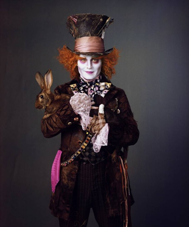 Johnny Depp will be playing the Mad Hatter once again (Picture: Disney)