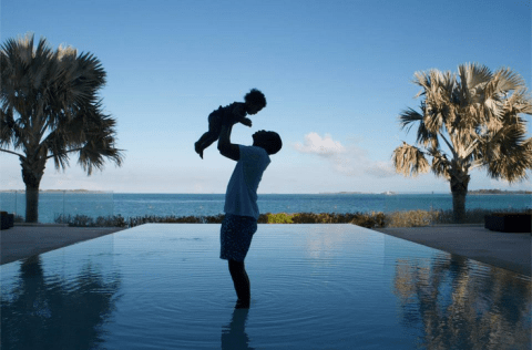 Beyoncé shares cute snap of Jay Z and daughter Blue Ivy on Facebook