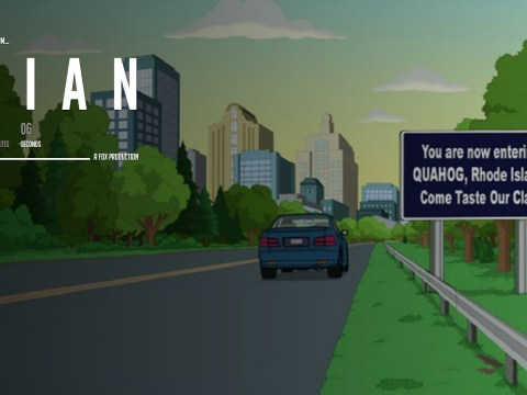 Family Guy: Cryptic 'Brian's announcement' website declared fake by Fox