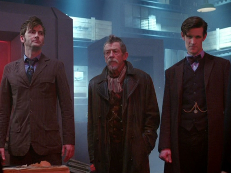 The Day of the Doctor was perfect Doctor Who – Steven Moffat pulled a blinder