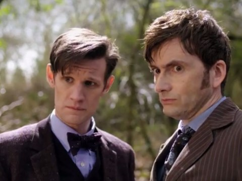 Doctor Who fans go wild as Day of the Doctor trailer is released early