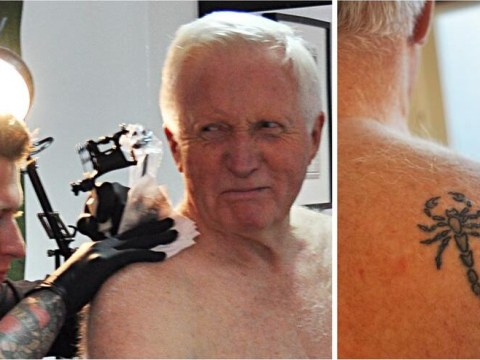 David Dimbleby's scorpion tattoo an 'HIV warning sign in the gay community'