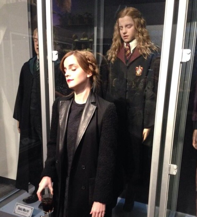 Emma Watson pretended to be this Hermione Granger model (Picture: Emma Watson/Twitter)