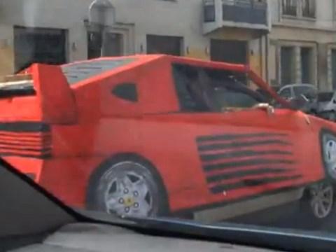 Transform your mundane motor into a supercar with 'insta-Ferrari cover'
