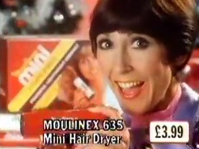 Festive woolworths ad with Una stubbs