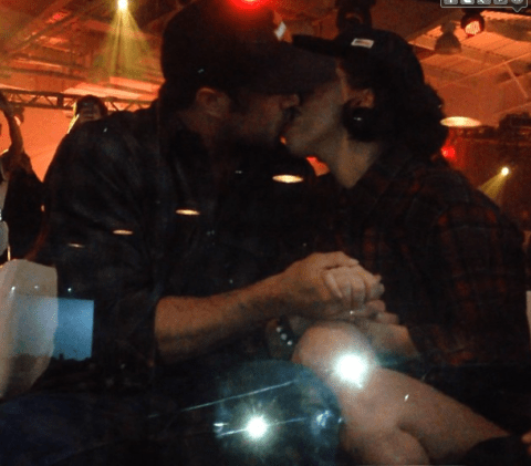 Lady Gaga and Taylor Kinney end split rumours with PDA at YouTube Music Awards