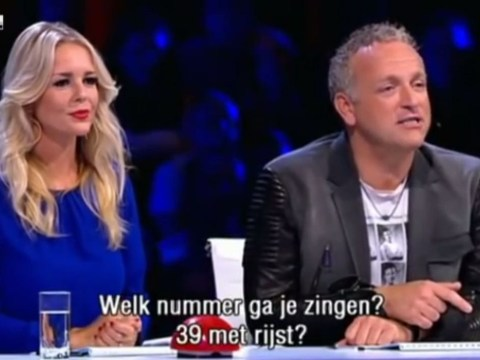 'Which number are you singing, No. 39 with rice?' Holland's Got Talent judge cracks racist jokes at Chinese performer