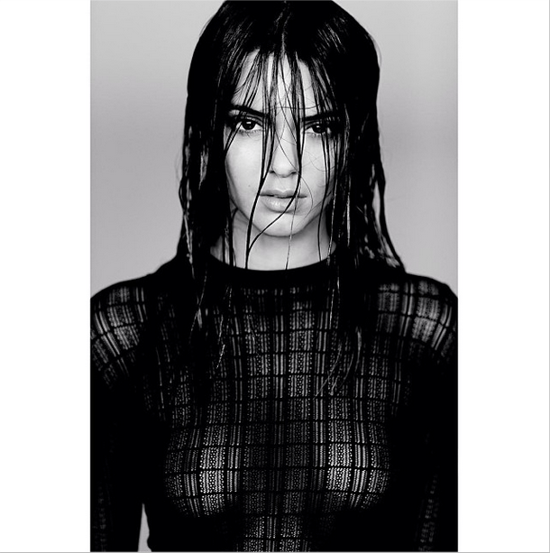 Kendall Jenner shows off a racier look on a fashion shoot (Picture: Kendall Jenner/Instagram)