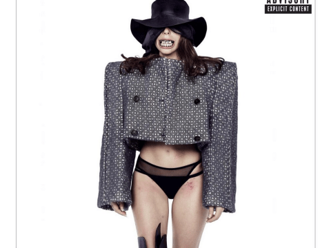 Lady Gaga bares rotten teeth on new Dope artwork