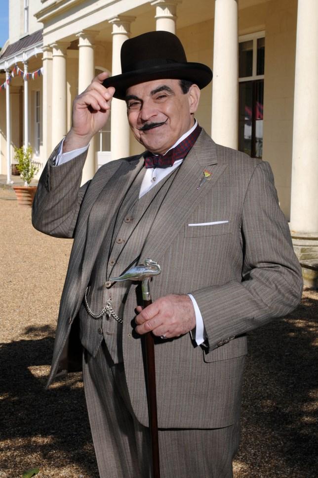 David Suchet as Hercule Poirot (Picture: ITV)