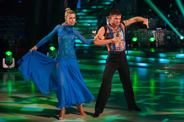 Strictly Come Dancing 2013: Abbey is second-favourite to walk away with the glitterball (Picture: BBC)