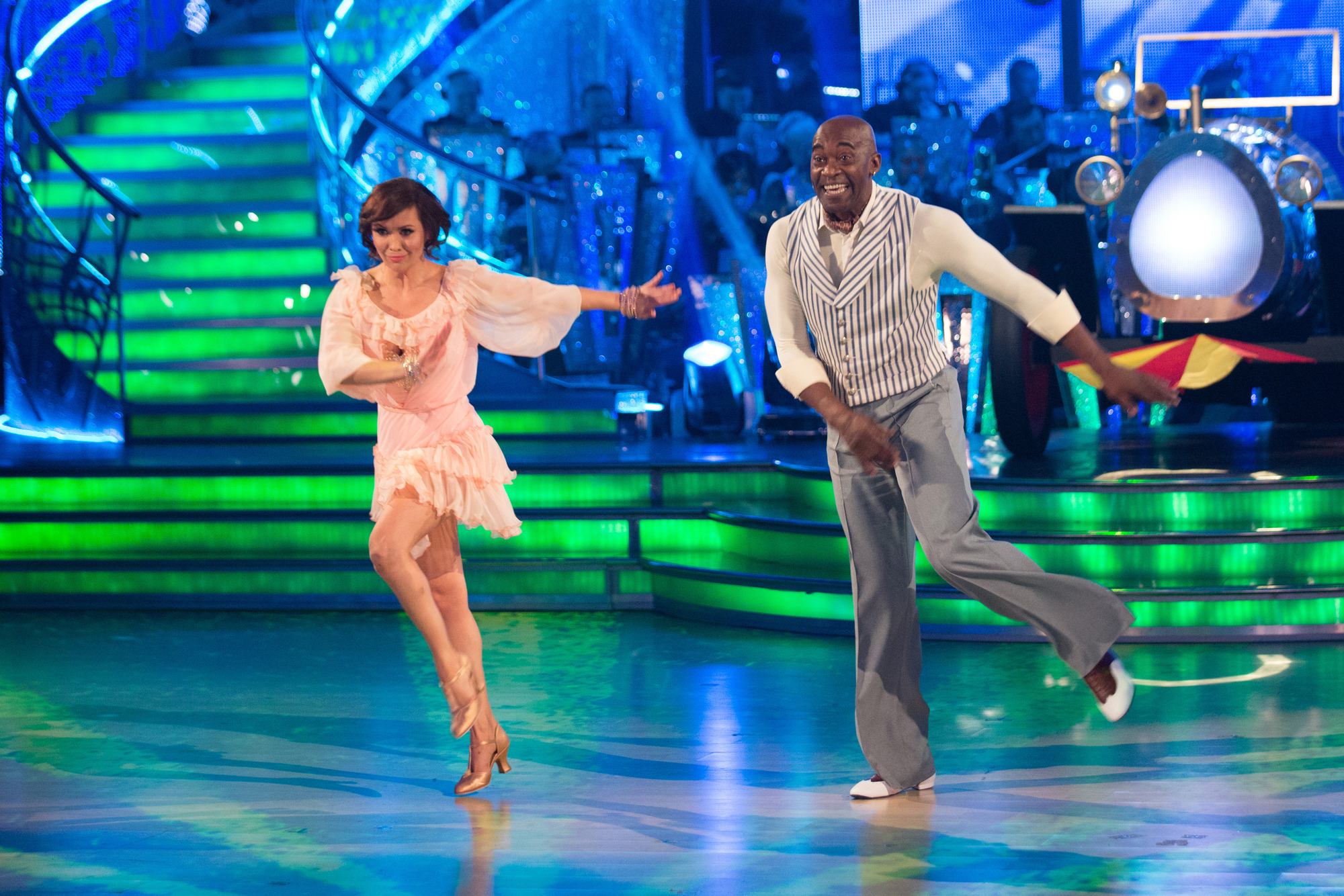 Patrick Robinson's Strictly charleston hailed as 'routine of the series'