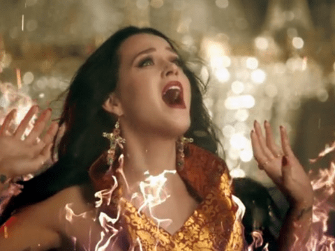 Katy Perry endures fire, snow and a car crash to express her love in new Unconditionally video