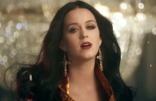Katy Perry has unveiled her latest music video (Picture: Vevo)