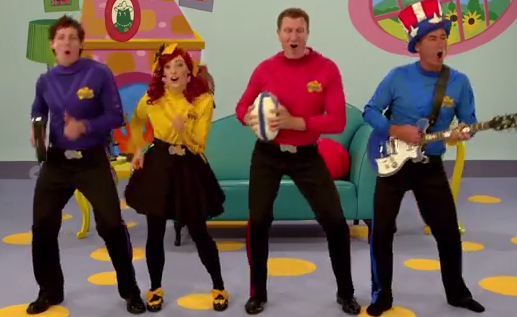 The Wiggles have written a song for the US Tomahawks (Picture: YouTube)