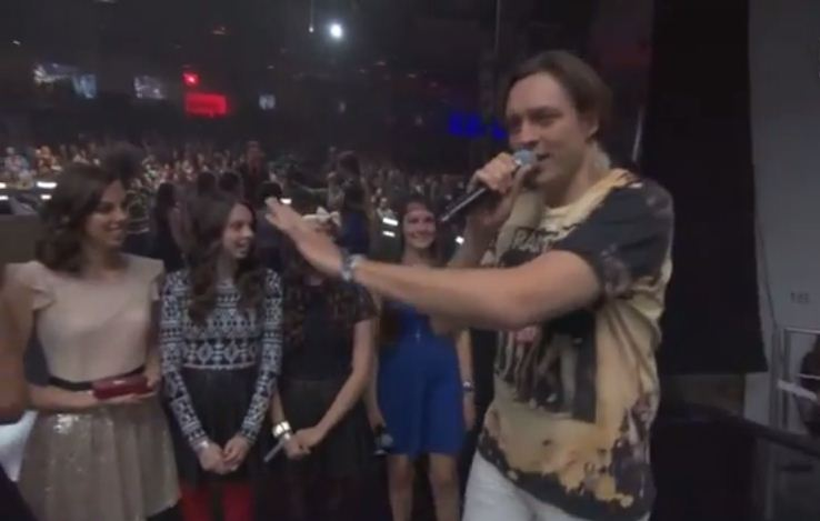 Arcade Fire's Win Butler pulls a Kanye West at the YouTube Music Awards