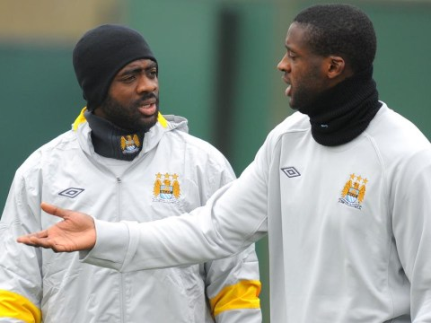 You're going down! Yaya Toure winds up brother Kolo Toure on Twitter ahead of Manchester City v Liverpool