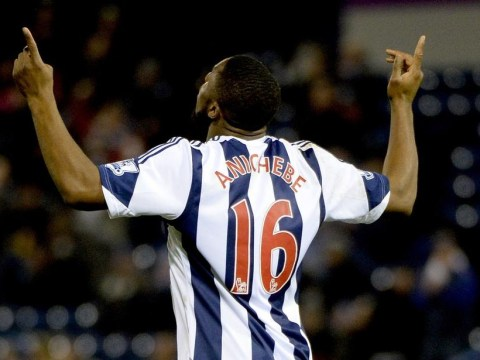 Victor Anichebe vows to score more goals for West Brom after scoring against Manchester City