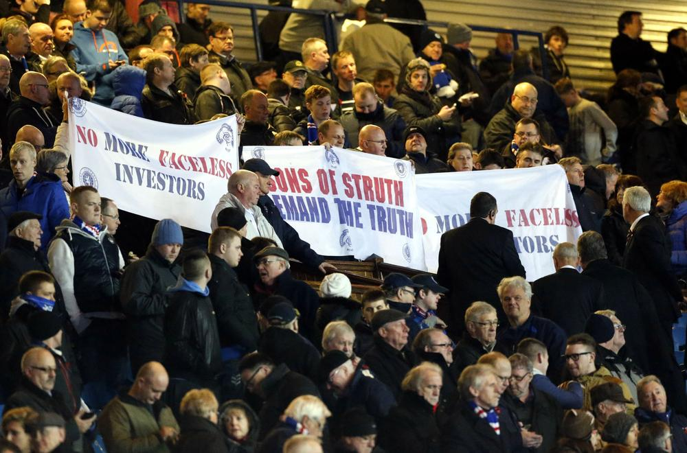 Why it's time for Rangers fans to stop moaning and do something positive