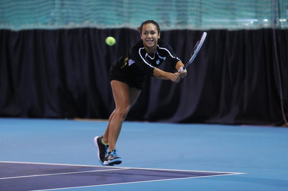 British tennis star Heather Wason reveals her childhood hero was snooker champion Ronnie O'Sullivan
