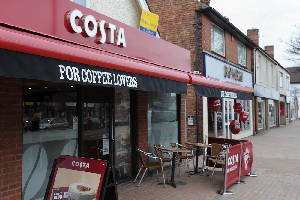Costa Coffee ordered to improve hygiene after 'rotting mouse' discovered