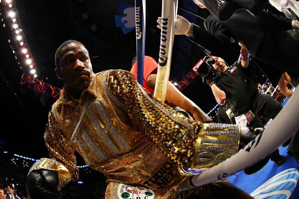 Adrien Broner, the man dubbed the 'New Floyd Mayweather Jr' , demands respect if he beats Marcos Maidana