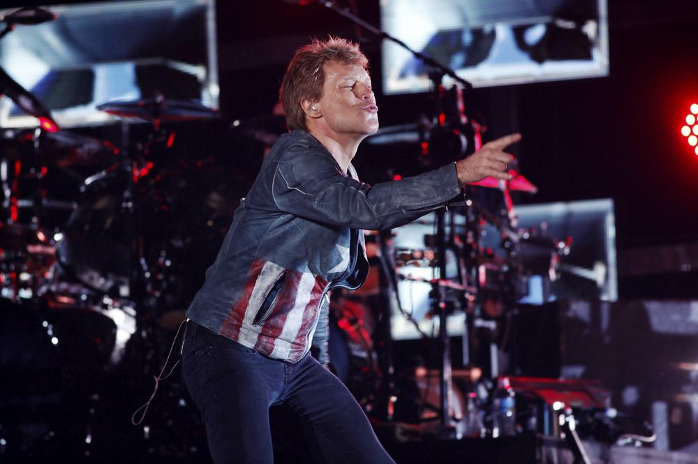 Bon Jovi beat The Rolling Stones to record the biggest-selling international tour of 2013