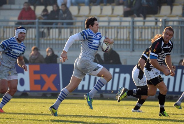 PARMA, ITALY - DECEMBER 07: Alex Goode of Saracens in action during the Heineken Cup pool three match between Zebre and Saracens on December 7, 2013 in Parma, Italy. Claudio Villa/Getty Images