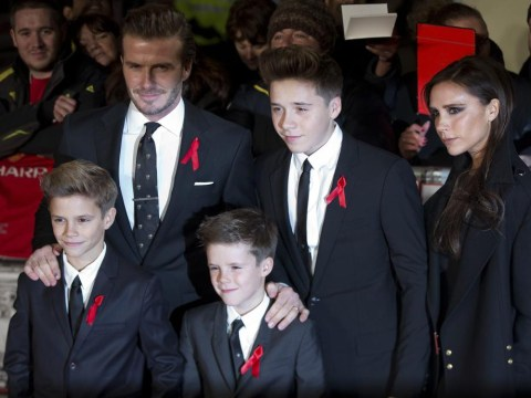 David Beckham: The kids want 'mum and dad' tattoos