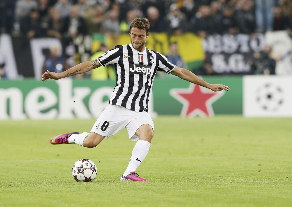 Arsenal and Manchester United target Juventus' Claudio Marchisio