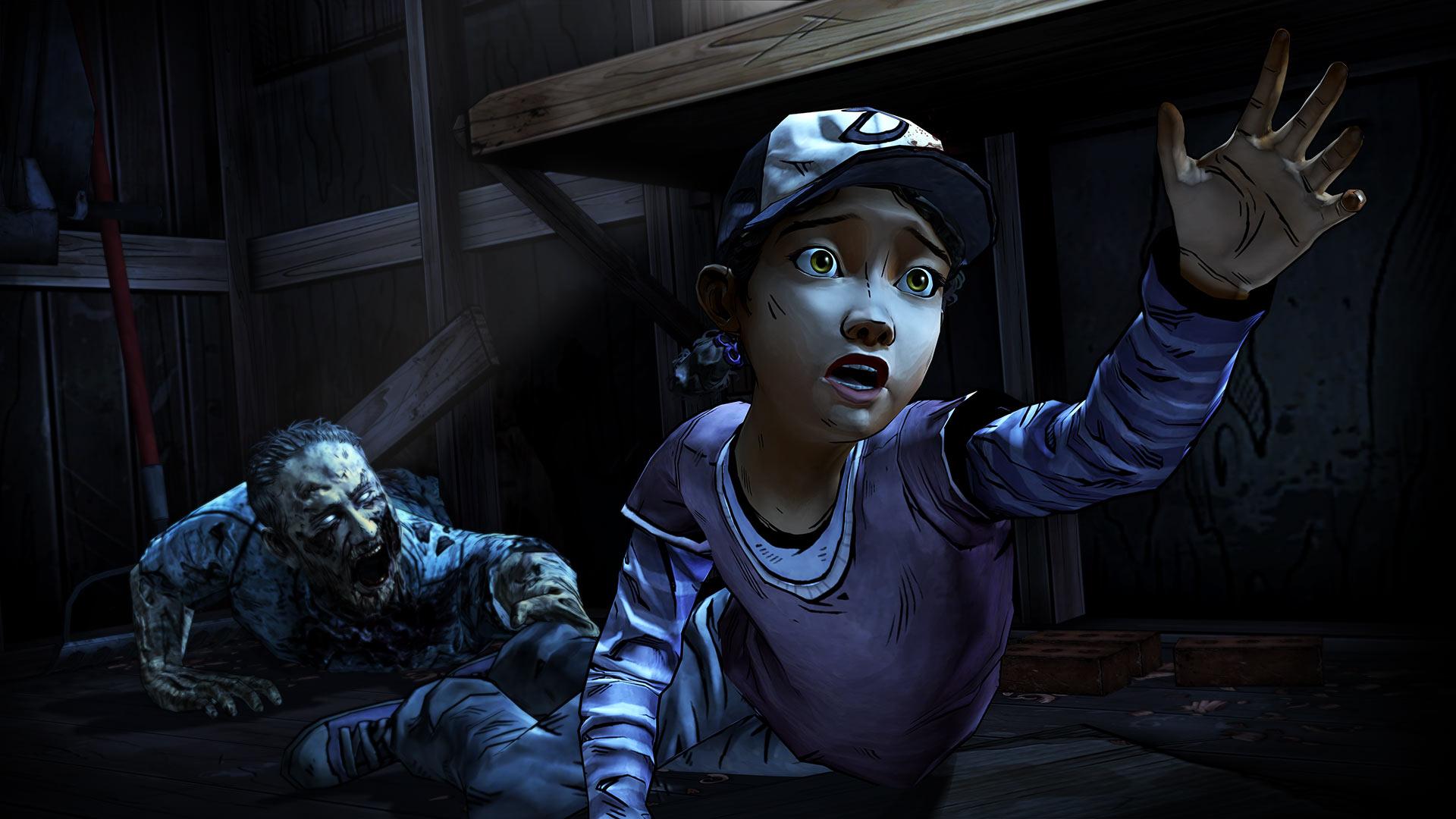 The Walking Dead: Season Two - it looks like Clemy's still in trouble