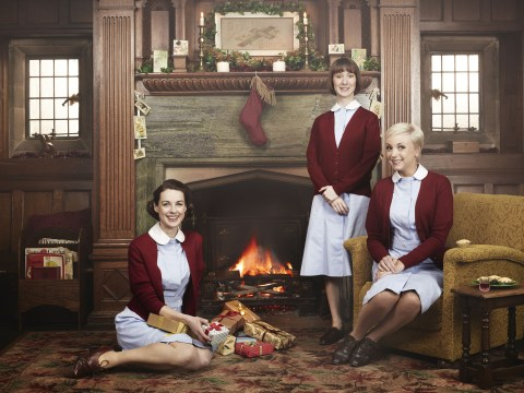 Call the Midwife Christmas special had bombs, babies and Miranda Hart – it was the most Christmassy thing on TV