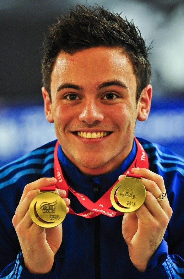 Tom Daley has revealed he is in a relationship with a man (Picture: PA)