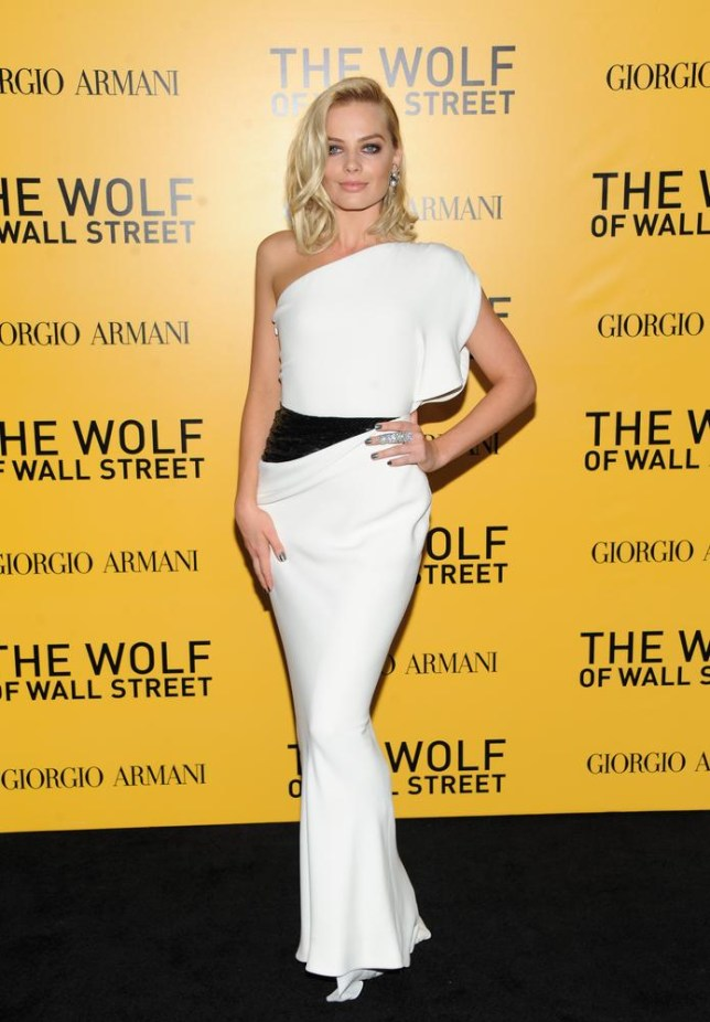Margot Robbie says she loved being in the 'boys club' on The Wolf of Wall Street set (Picture: Invision/AP