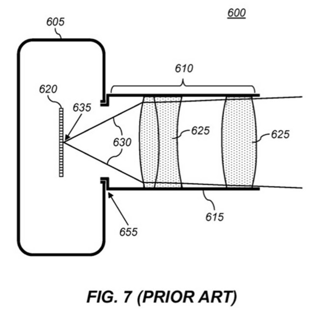 A diagram from the patent granted to Apple: does this show the camera of the future? (Photo: Apple)