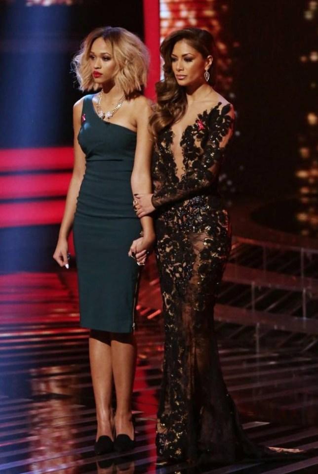 X Factor Nicole Scherzinger Tamera Foster