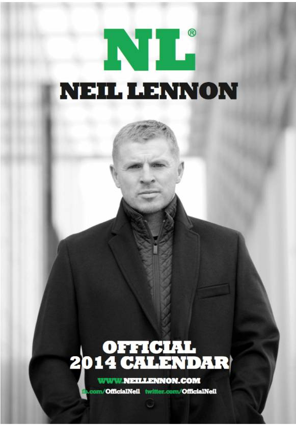 Strangest Christmas present ever? It's the 2014 Neil Lennon calendar