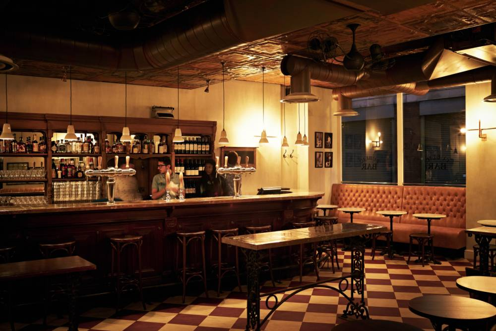 The Ape & Bird: A glamorous place to dine near Seven Dials