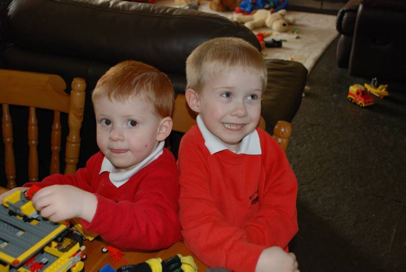 A COUPLE are desperate to find bone marrow donors for their little boys, after they were BOTH diagnosed with a rare and ¿life-limiting¿ genetic condition.nEuan Macleod (correct Macleod), six, was diagnosed in June. Doctors tested his younger brother Arran, three, a week later, as a possible donor - and discovered he also had the condition.nThey both have Chronic Granulomatous Disorder (CGD), which weakens their immune systems.nIt is an extremely rare condition, which affects between 250 and 280 people in the UK.nParents Janet and Calum, from Upper Dounreay, Caithness, in the Scottish Highlands, say the best Christmas present would be a phone call to say suitable bone marrow transplant donors have been found.  There is no other cure. FROM JOHN JEFFAY AT CASCADE NEWS LTD    0161 660 8087 /  07771 957773  john@cascadenews.co.uknnSyndicated for Caithness CouriernnArran Macleod, three (left) and Euan Macleod, sixnn